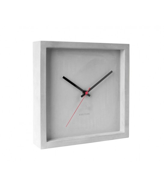 Wall Clock Franky Concrete