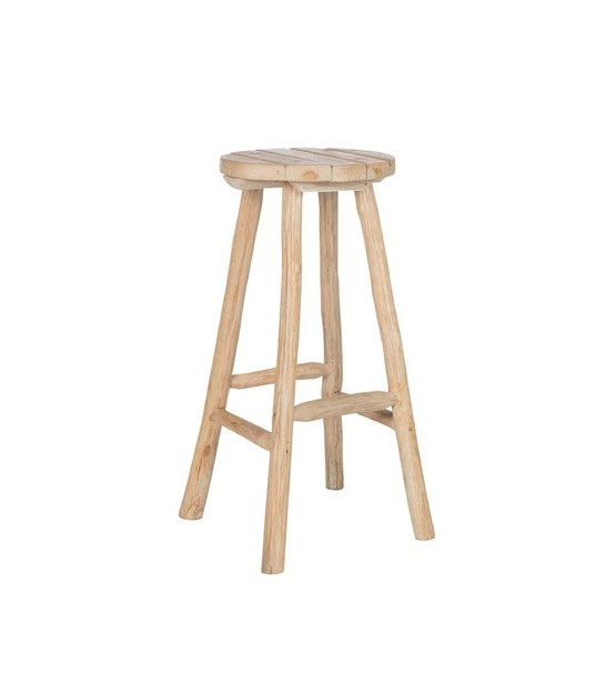 Tabouret de Bar en Chêne Naturel