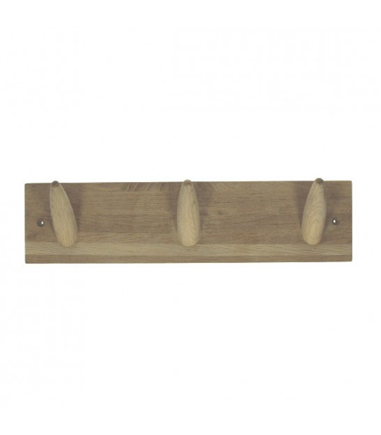 Wall Coat Rack Oak