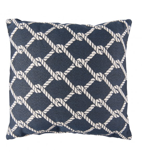 Blue and White Cushion Anchor