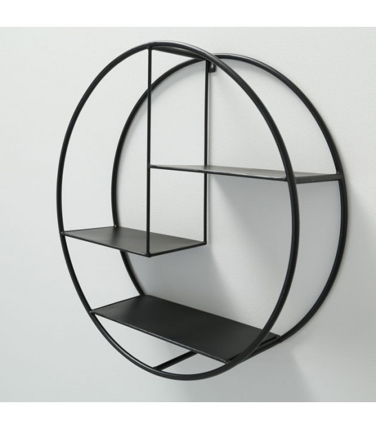 Wall Shelf Metal Round