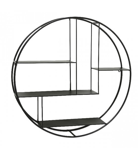 Wall Shelf Metal Round - 75cm