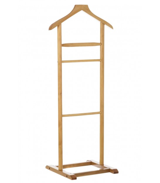Valet Stand Walnut Wood
