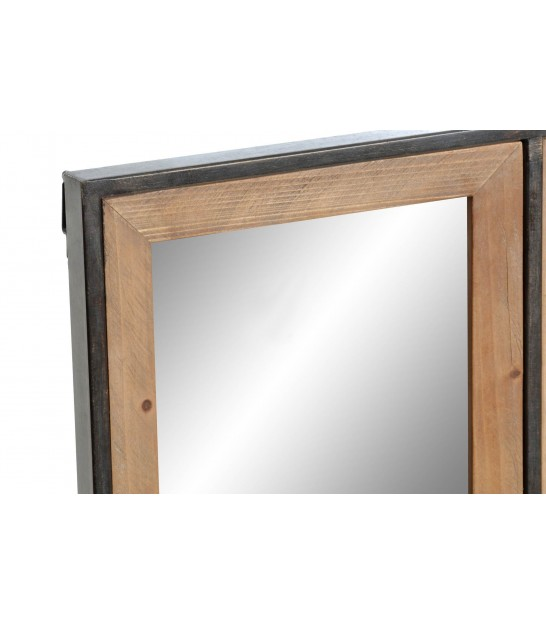 Grand Miroir Rectangulaire Bambou