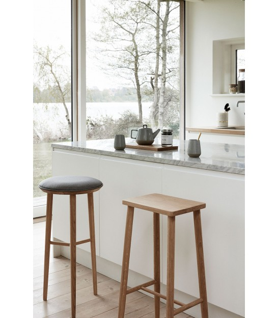 Bar Stool Natural Oak