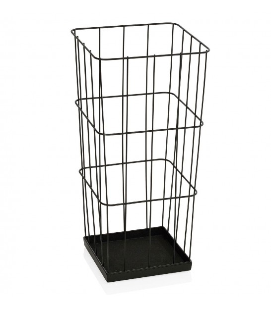 Black Metal Square Umbrella Stand