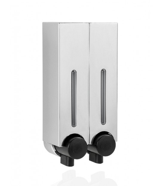 Wall Soap and Shampoo dispenser Chrome