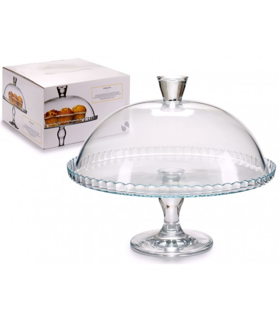 Glass Cake Stand 32cm Diameter