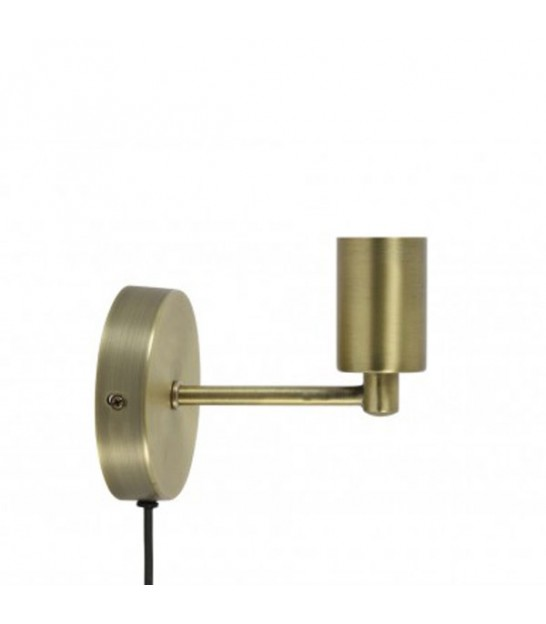 Wall Lamp, Brass