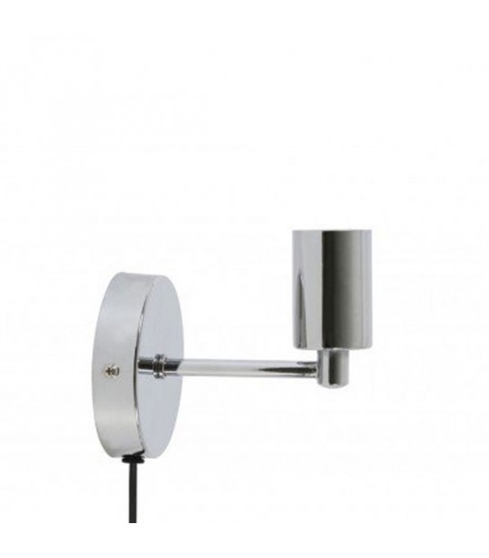 Wall Lamp Metal Chrome