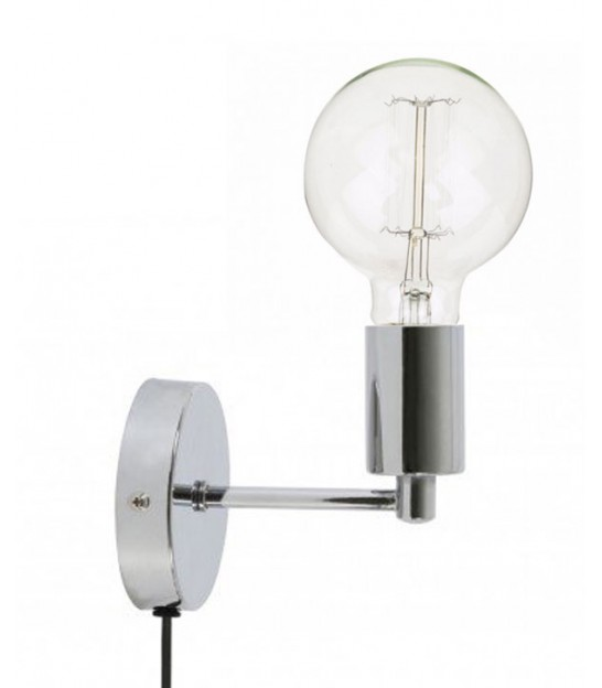 Wall Lamp Metal Black