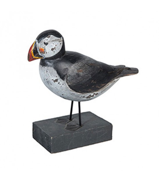 Statue Wood Decorative Bird