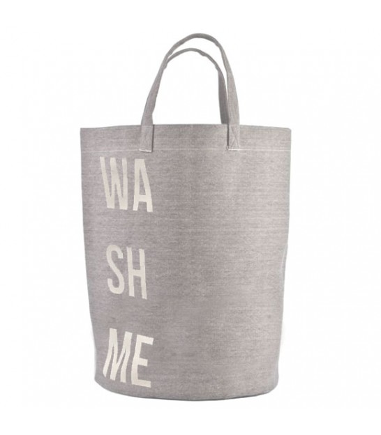 Laundry Basket Grey Wash Me