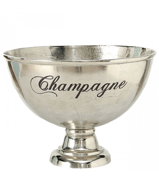 Aluminum Silver Champagne Bucket