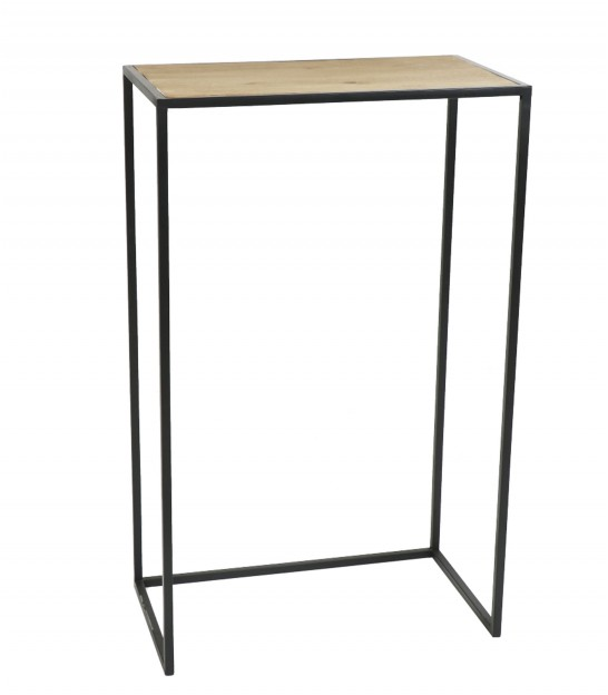Console Table Wood and Metal