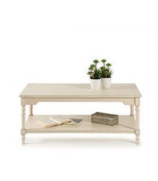 Coffee Table Wood MDF Grey