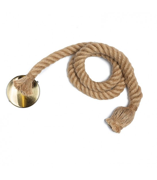Suspension Corde de Chanvre Vintage - 150cm
