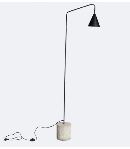Floor Lamp Green Metal