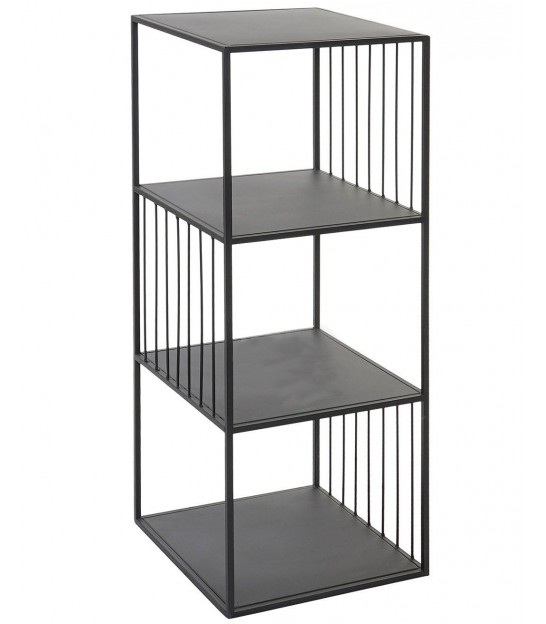 Shelf Black Metal - Height 180cm