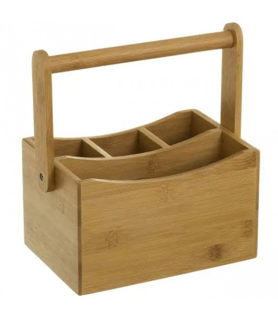 Bathroom Organizer Bamboo