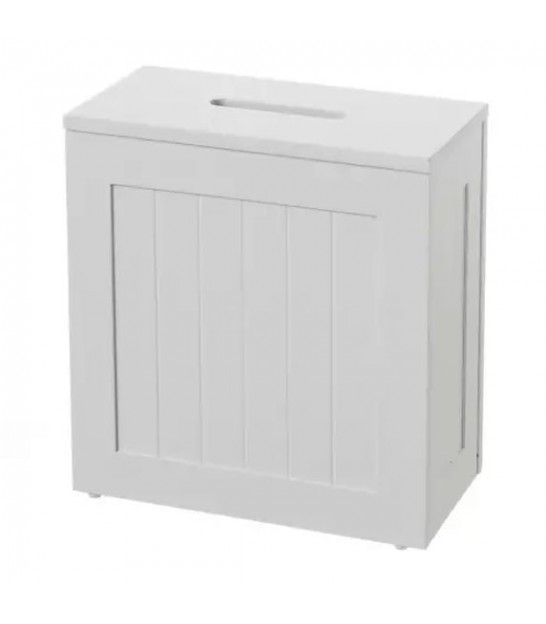 Tower Toilet Paper Holder White MDF