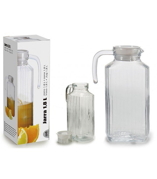 Carafe à Whisky en Verre Conique 800ml