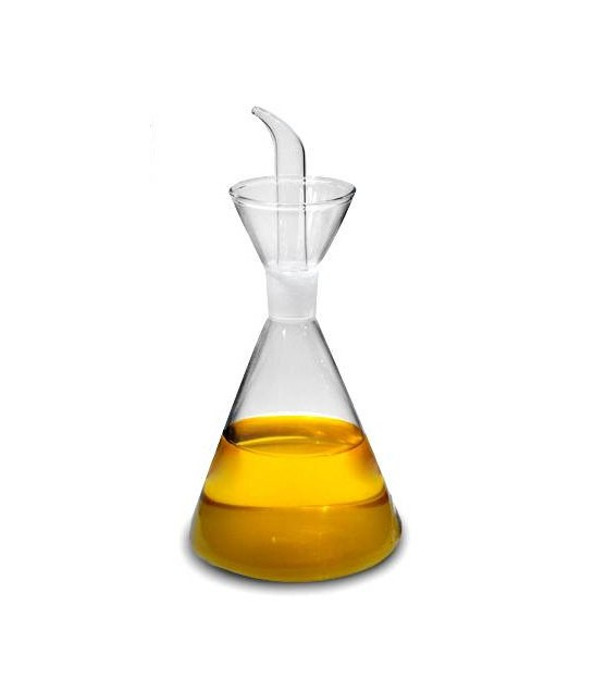 Oil or Vinegar Bowl Transparent Glass - 100cl