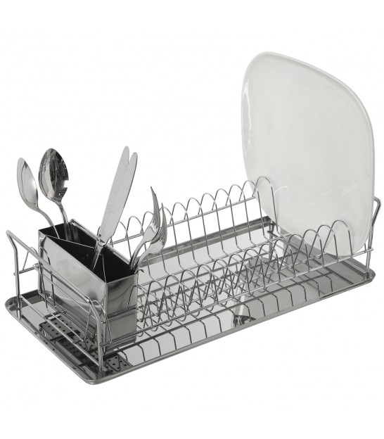 Dish Rack Chrome Inox