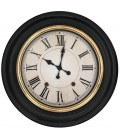 Wall Clock Black and Gold - 59cm