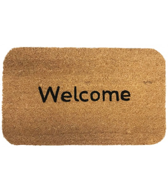 Coco Doormat Welcome 75cm x 45cm