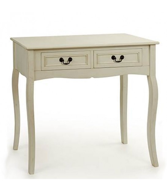 Entrance Console Table White 2 Drawers