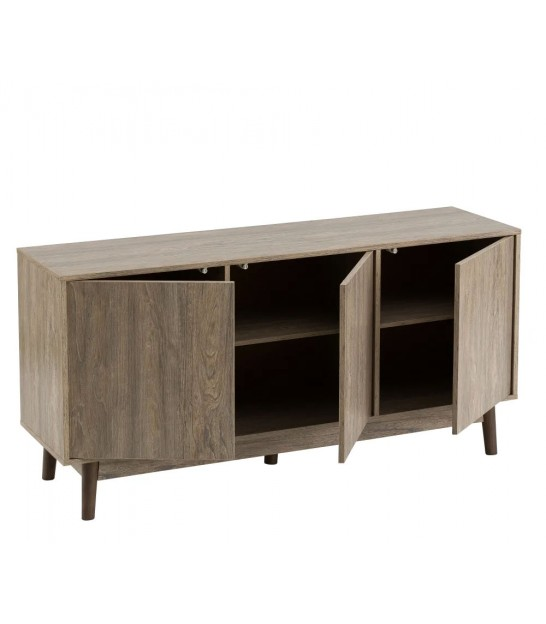Console Table Pinewood and MDF