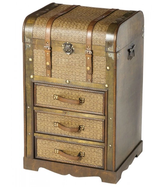 Chest of Drawers 3 Drawers Brown