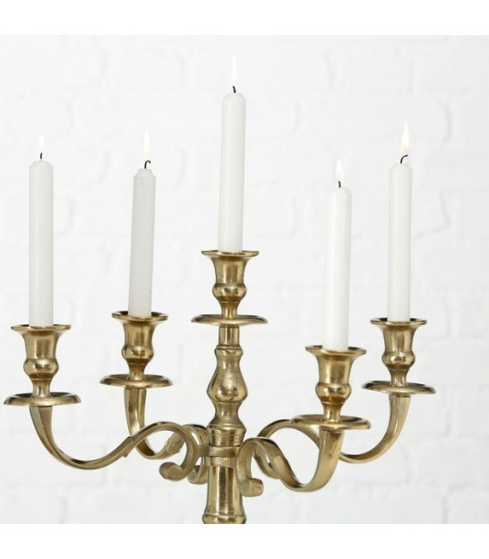 Golden Candle Holder - 77cm