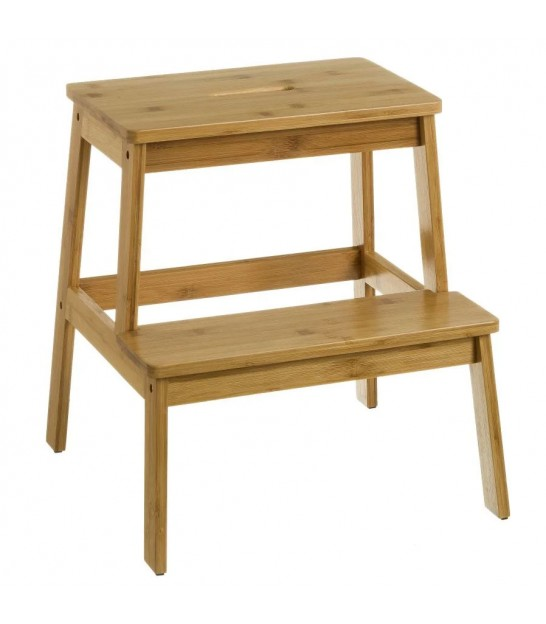 Bamboo Step Stool - Height 47cm