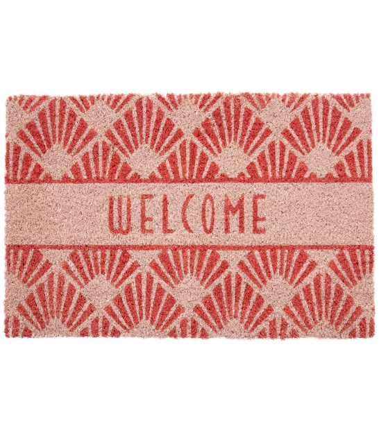 Coco Doormat Blue Art Deco - 60x40cm