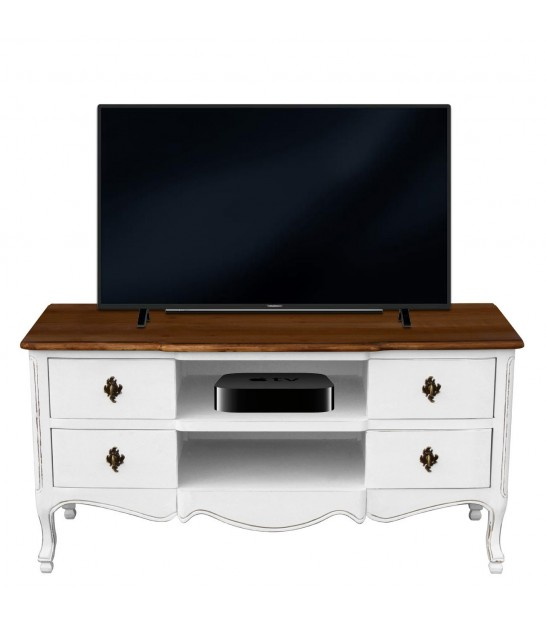 TV Stand Wood MDF 2 Drawers