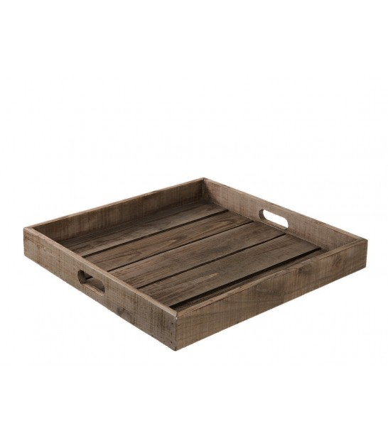 Wood Tray Square