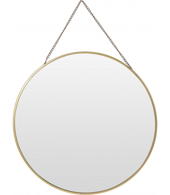 Mirror Golden Metal - 30x26x1cm
