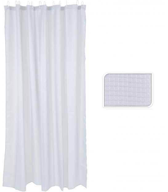 Shower Curtain Blue polyester 180x180cm