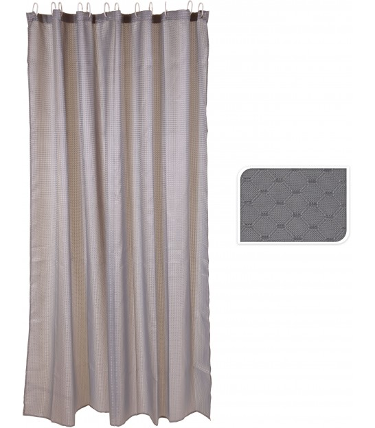 Shower Curtain White polyester 180x180cm