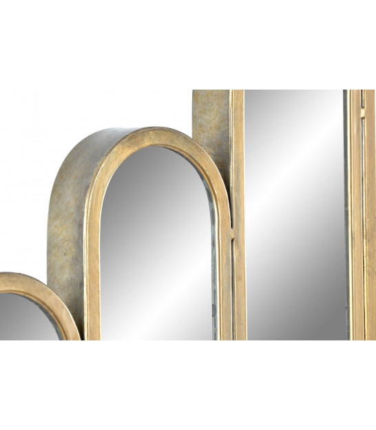 Square Wall Mirror Wood