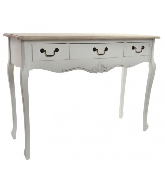 Console table Classical White Wood MDF