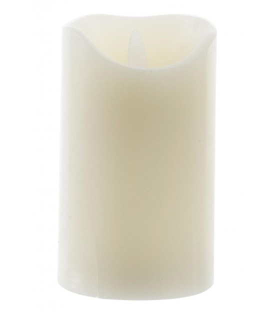 Big LED Candle made of real wax - Height 25.5cm