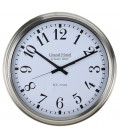 Wall Clock Chrome - 51.6cm