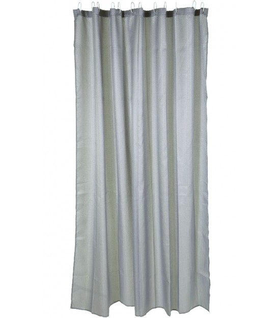 Shower Curtain Grey polyester 180x180cm