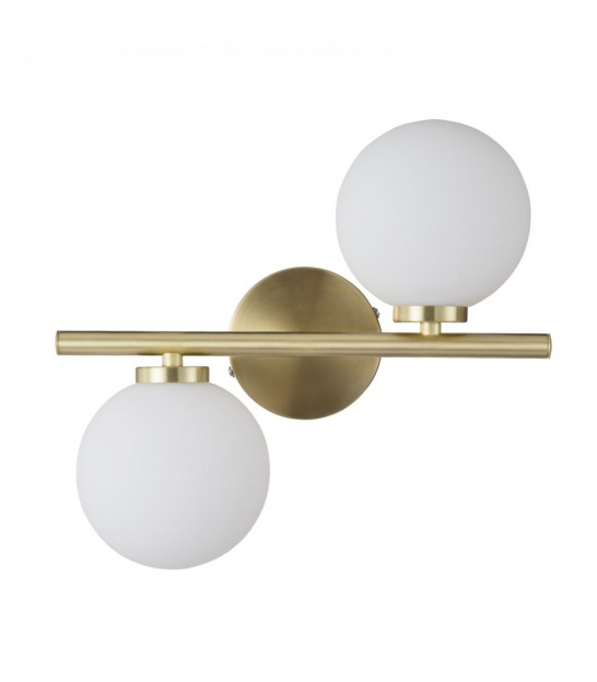 Double Wall Lamp Metal Antic Gold
