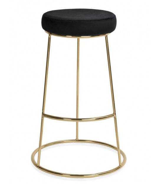 Design Bar Stool Black Metal
