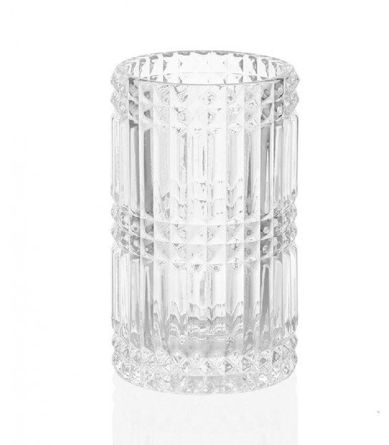 Toothbrush Holder Glass Transparent