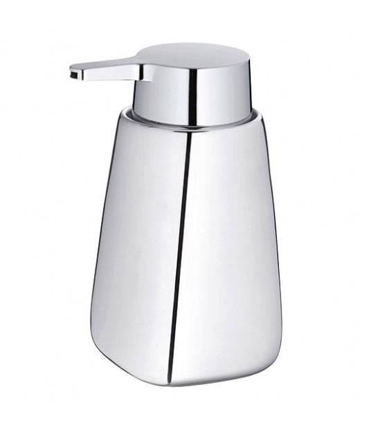 Soap Dispenser Grey Polyester Stone Effect